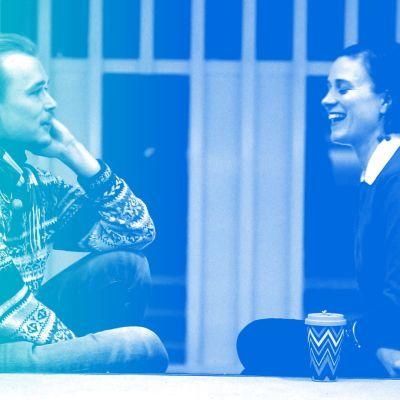 Kalle Halmén och Malin Gustavsson snackar om vilka åsikter som är ok att säga högt.