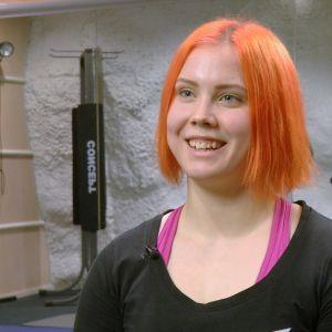 Styrkelyftare Susanna Törrönen.
