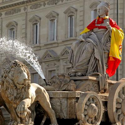 Plaza de Cibeles i Madrid