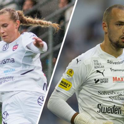 Ria Öling och Carljohan Eriksson.