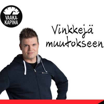 Timo Haikarainen ja Mari Kononen Vaakakapinan Vinkkejä muutokseen -kuvassa