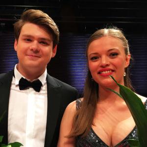 Mirjam Helin -laulukilpailun voittajat 2019.