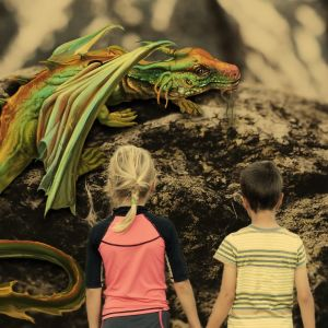 Lohikäärmeitä on ihmetelty Yleisradion kuunelmien aiheena aina 1950-luvulta lähtien.