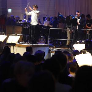 Turun Filharmonisen Orkesterin Open Orchestra -tapahtuma.