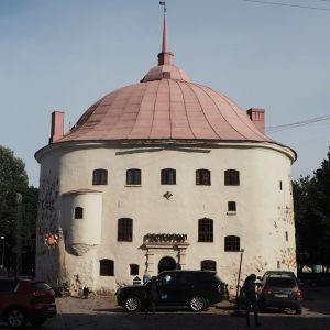 Det runda tornet i Viborg sommaren 2019.