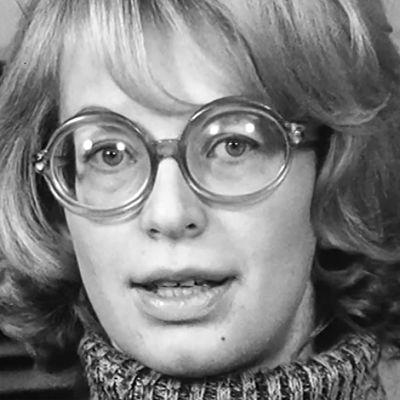 Kirjailija Kaari Utrio
