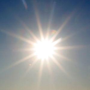 bild på sol