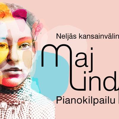 Maj Lind -pianokilpailun Yle-logo / Minna Lusa.