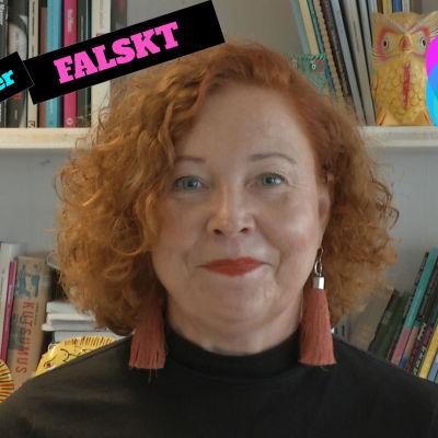 Heidi Finnilä från Yle Nyhetsskolan.
