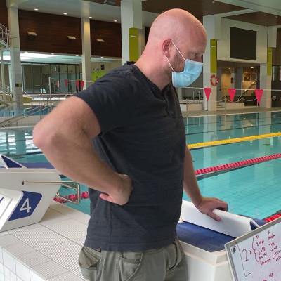 Uintivalmentaja Eetu Karvonen jatkaa valmentamista Porissa.