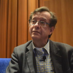 professorn i antropologi Eduardo Luis Luna