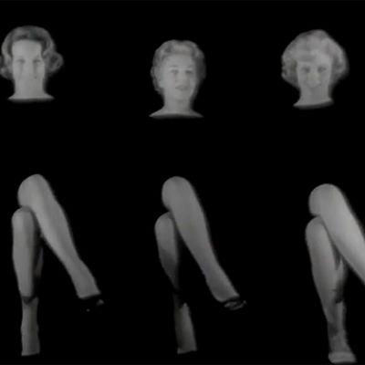 Nylonsukkamainos (1960).