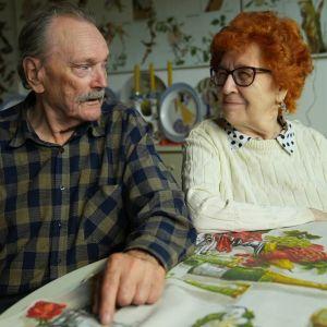 Tauno, 83, ja Terttu, 85, ovat olleet naimisissa 60 vuotta.