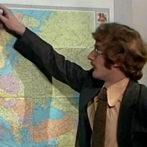 Neil Hardwick ennustaa Euroopan poliittista säätä (1974).