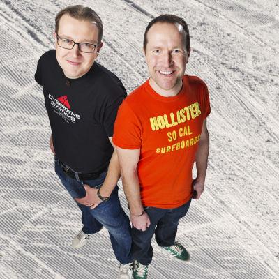 Antti Koivukangas och Christian Vuojärvi.