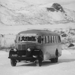 Vanha auto Lapissa.