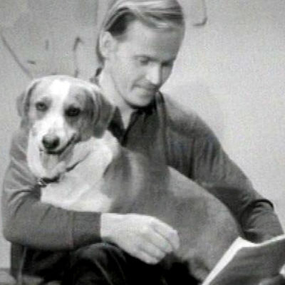Koira vieraana Eläinlääkärillä-ohjelmassa 1972