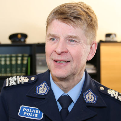 Lapin poliisilaitoksen poliisipäällikkö Esa Heikkinen