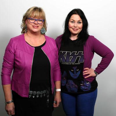 Erja Mäki-Filppula ja Maria Jyrkäs.