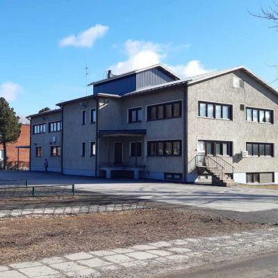 Honkavaaran vanha rakennus Seinäjoen yhteiskoulun yhteydessä