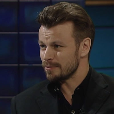 Peter Franzén haastateltavana.
