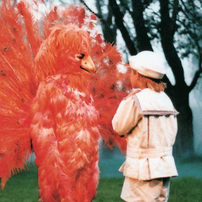 Riki möter Eldfågeln i Den förtrollade vägen, 1986