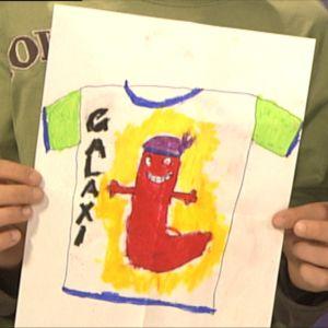 Vuoden 2009 Galaxin kesä-t-paitakisan voittajakuvan teki Nella Vaasasta