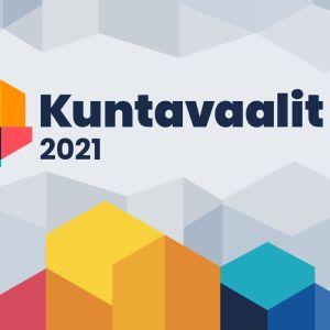 Ylen Kuntavaalit 2021 - grafiikka