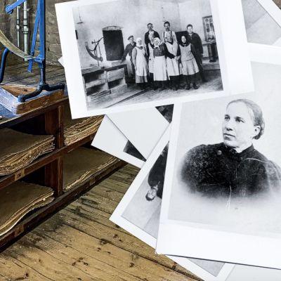 Montage för dokumentär om Maria Mattsson och Verla pappersfabrik