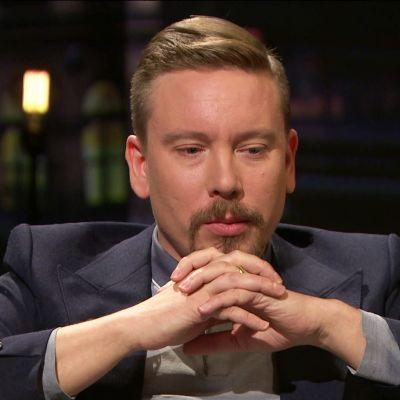 Perttu Häkkinen Arto Nybergissä 2017.
