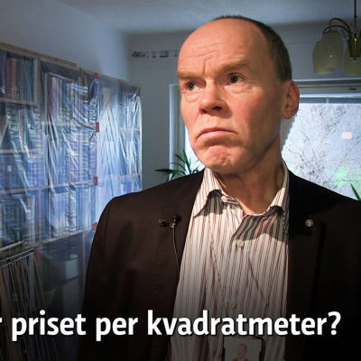 Husbolagets ordförande Mikko Jauhiainen.