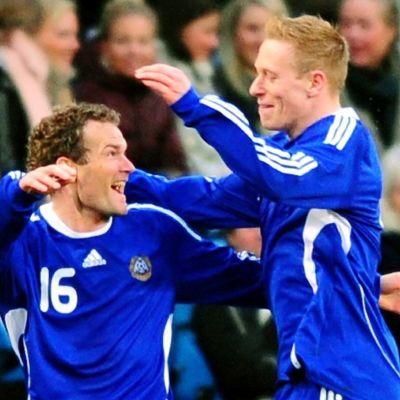 Jonatan Johansson och Mikael Forssell.