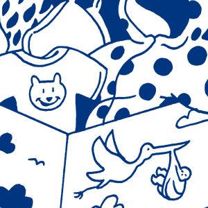 Jokaisen suomalaisen lapsen elämän ensiaskeliin tarvittavat varusteet yhdessä pakkauksessa. Pakkausta on jaettu kaikille suomalaisille äideille vuodesta 1949 alkaen ja sitä kehitetään edelleen jatkuvasti vanhempien toiveiden mukaan. Äitiyspakkaus lienee S