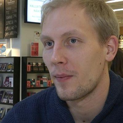 Niko Vuorinen, fäktare och filosof i februari 2015