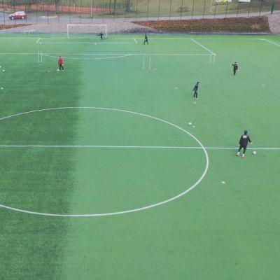 FC Lahti tränar.