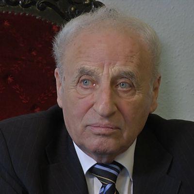 Gusztav Zoltai, ledare för den judiska landsorganisationen i Ungern, mars 2014