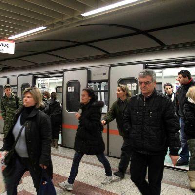 Ateenan metro.