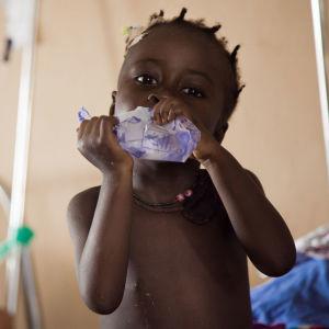 Burundilainen lapsi