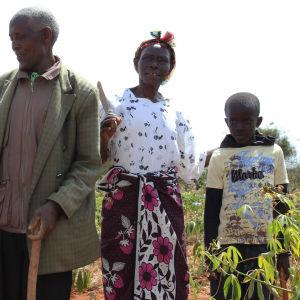 Kenialainen perhe