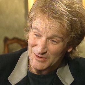 Robin Williams haastattelussa vuonna 1992.