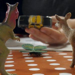 Leksaker som ritas av.