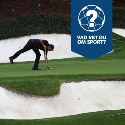 Golfare vid det elfte hålet på The Masters.