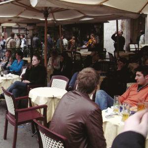 Kahvila Piazza Navonalla