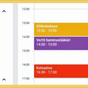 Lisää uusi kalenterimerkintä