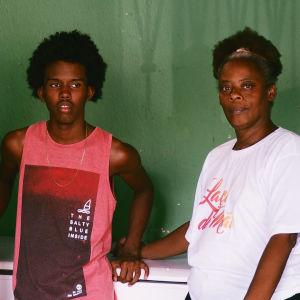 Gleyde och Hernan lever i favelan med sin son Piero.