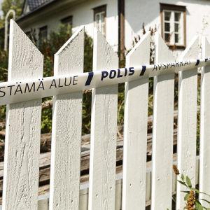 Huset i Söderkulla där mordet begicks