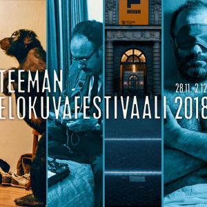 Mosaiikkikuva Teeman elokuvafestivaalin syksyn 2018 ohjelmistosta.
