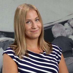 Yle Kioskin videotoimittaja Emma Karasjoki
