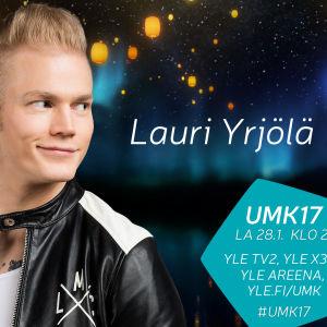 UMK17-kilpailija Lauri Yrjölä