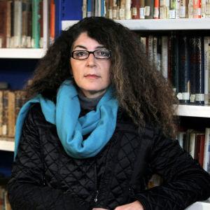 Espanjalainen kirjailija Melania Mazzucco